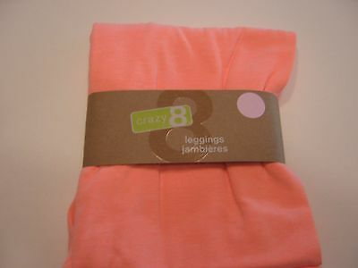 CRAZY GIRLS NWT 14 SOLID CORAL PINK LEGGINGS X LARGE 14 XL new
