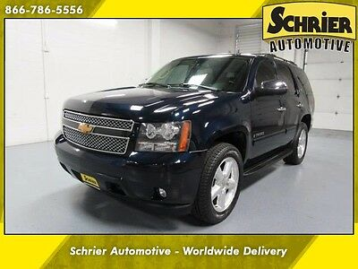 2007 Chevrolet Tahoe  07 Chevy Tahoe Blue 4WD Bose Flex Fuel 7 Passenger Sunroof Leather