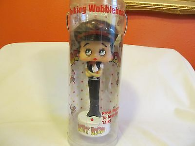 Betty Boop Talking Bobblehead In Original Package~Low Shipping~Dated 2002