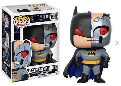 Pop! Heroes: Animated Batman - Batman (Robot) FUNKO #193