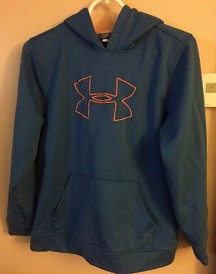 UNDER ARMOUR Blue Hoodie / Hooded Sweatshirt Boys / Youth XL / YXL