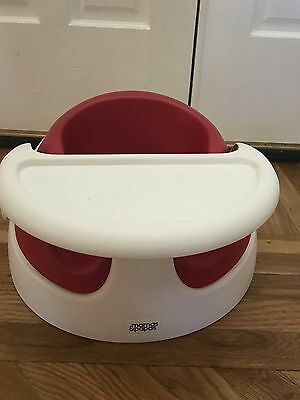 Mamas & Papas Baby Bud Booster Seat in Raspberry