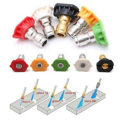 1 in Pack Pressure Washer Cleaning Nozzles Spray Tips Size CB