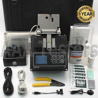 Siecor Corning X77 5000 SM MM Fiber Core Alignment Fusion Splicer w/ Cleaver