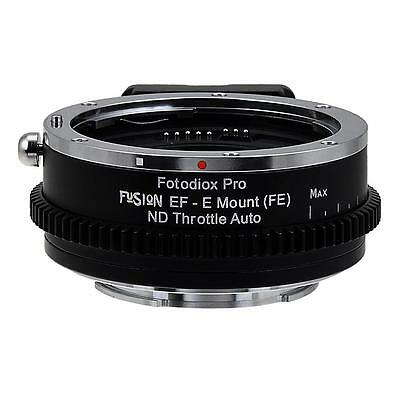Vizelex ND Throttle Fusion Adapter: Canon EOS - EF Lens to Sony E-mount Camera