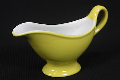 Yellow Restaurantware Gravy, Syrup Pitcher Or Creamer Sterling Vitrified China