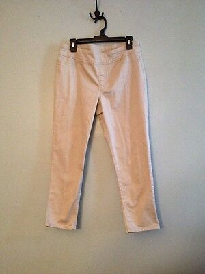Style & Co Women's Stretchy Elastic Waist Cropped Size PL