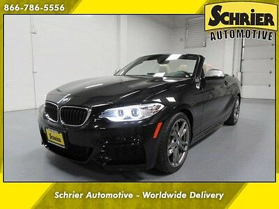 2016 BMW 2-Series  16 2 Series M Black Sapphire AWD Driver Assistance Cold Weather Technology