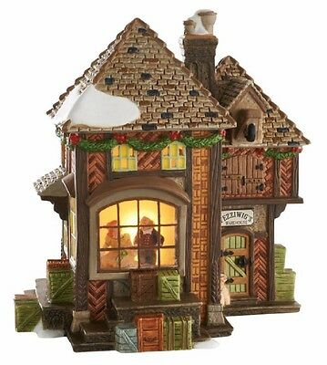 Department 56 Dickens Christmas Carol Fezziwig's Holiday Dance Building 4050944
