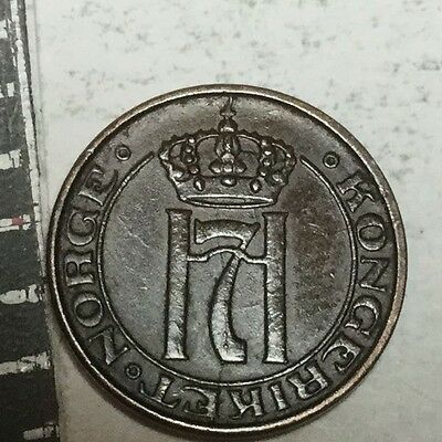 NORWAY 1938 1 Ore coin excellent condition