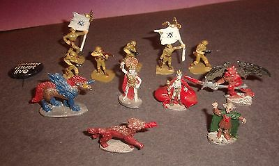 Lot miniature Creatures and Israel Soldiers