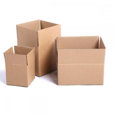 Cardboard Paper Boxes Mailing Packing Shipping Box Corrugated Carton New