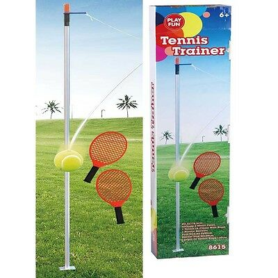 TENNIS TRAINER Twistball-Set Swing Reflex Tennis Set Swingball Tennisspiel