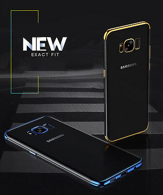 Luxury Ultra-thin Slim Clear Soft TPU Gel Case Cover For Samsung Galaxy S8 Plus