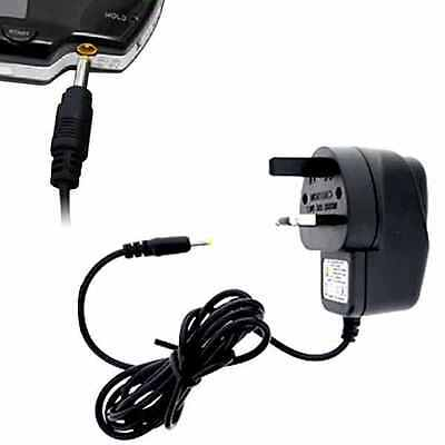 UK Plug AC Power Adapter Home Wall Travel Charger for Sony PSP 1000 2000 3000