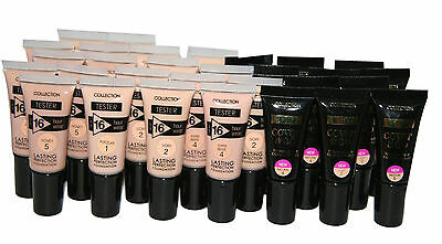30 x Collection 2000 Mini Foundation samples | Inc. Last Perfection & Cover & Go