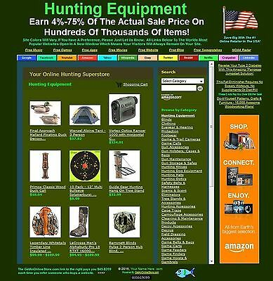 HUGE HUNTING WEBSITE BUSINESS FOR SALE - MOBILE FRIENDLY & AUTO UPDATING!   z1