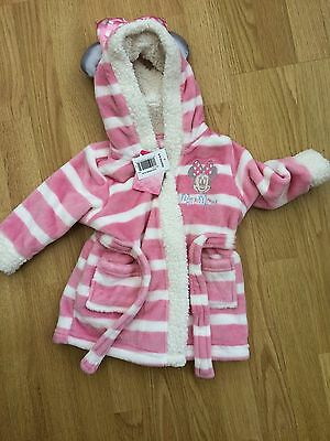 BNWT Mini Mouse Dressing Gown! 6-9 Months