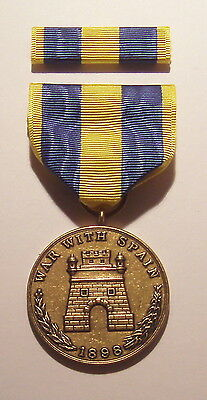 1898 U.S. Army Spanish Campaign Medal with RIBBON