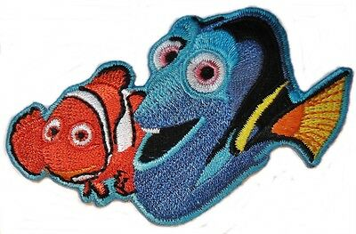 Movie Finding Dory Dory Nemo Embroidered Iron On Applique Patch BR