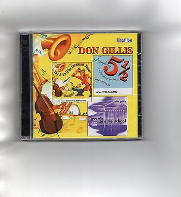 Don Gillis - Symphony No 5 1/2 / Frontier Town / Prairie School + New & Sealed