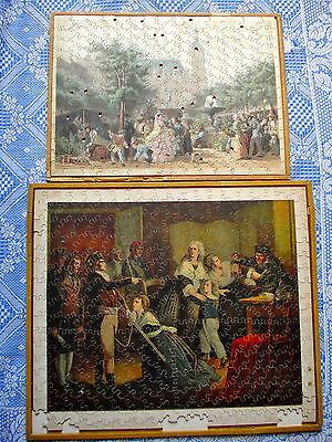 2 Sehr Alte Puzzles, 19. Jhdt