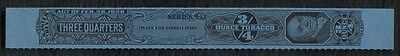 Tobacco Strips Taxpaid Stamp Springer TG1014a