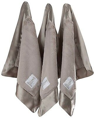 Little Giraffe Lovie Triangle Luxe Blanket Gift Set, Flax