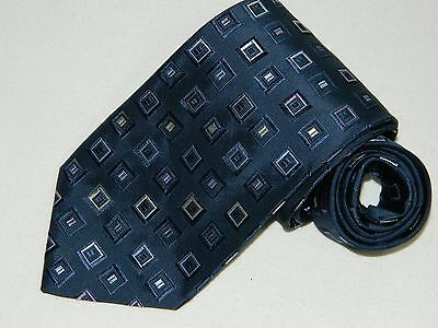 Men's Canali Blue Neck tie Made in Italy