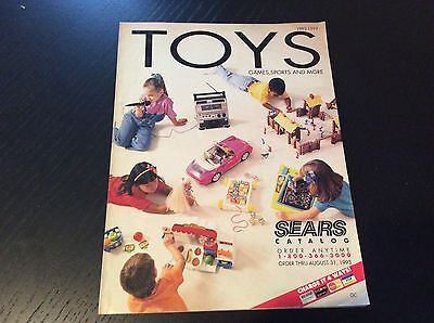vintage 1992-1993 SEARS Toys games sports Catalog Excellent