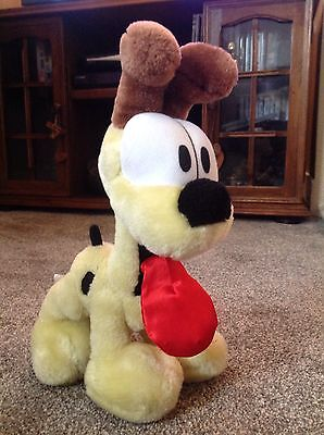 Rare Vintage Odie The Dog From Garfield Soft Toy Plush