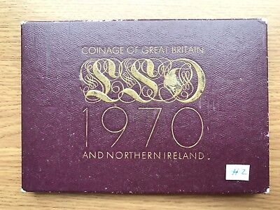1970 Royal Mint Proof 8 Coin Collection - Original Sleeve UK/GB Year Set #2