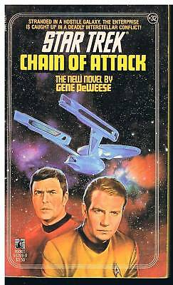Star Trek - Chain of Attack / Gene De Weese USA 1987
