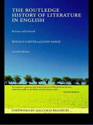 The Routledge History Of Literature In English - New Paperback Book