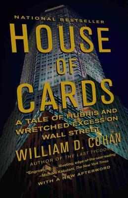 House Of Cards - Cohan, William D. - New Paperback Book