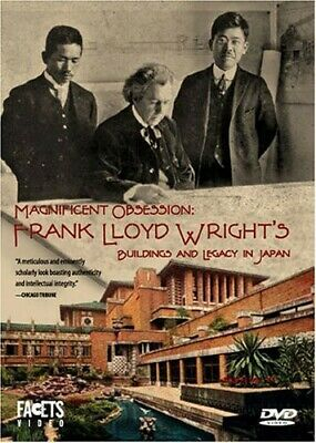 Magnificent Obsession: Frank Lloyd Wright's Buildings and Legacy in Japan [New D