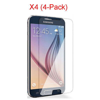 2PC 4PC Tempered Glass Protective Screen Protector Film For Samsung Galaxy S5 S6