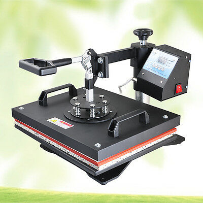 8 in 1 Transfer Sublimation T-Shirt Mug Hat Plate Cap Heat Press Print Machine