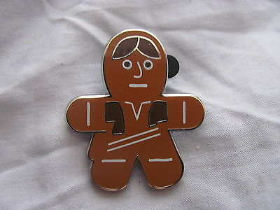 Disney Trading Pins 107865 Star Wars Gingerbread Mystery Collection - Han Solo O