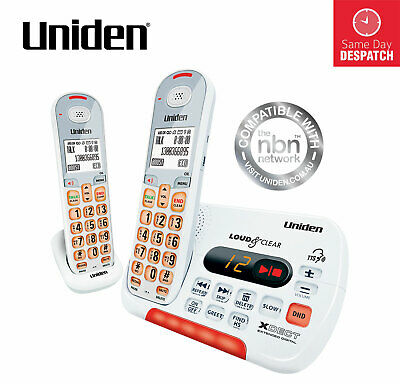 UNIDEN SSE35+1 Visual and Hearing Impaired Cordless Digital Phone System