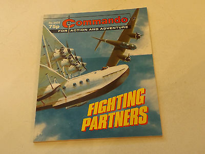 Commando War Comic Number 3420,2001 Issue,v Good For Age,16 Years Old,very Rare.