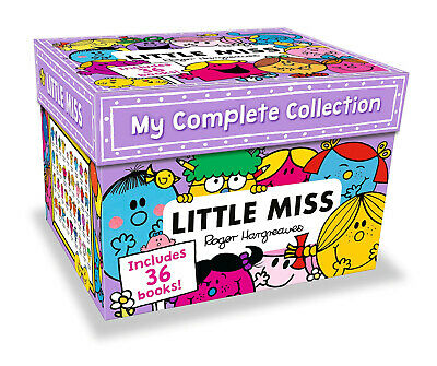My Complete Little Miss 35 Books Collection Roger Hargreaves Box Set NEW