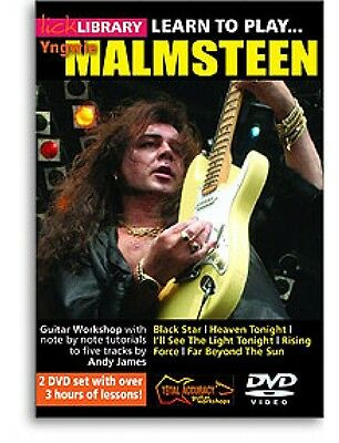 Lick Library Learn To Play Yngwie Malmsteen DVD - by Andy James