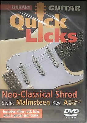 Lick Library Quick Licks: Yngwie Malmsteen DVD - Neo-Classical Shred