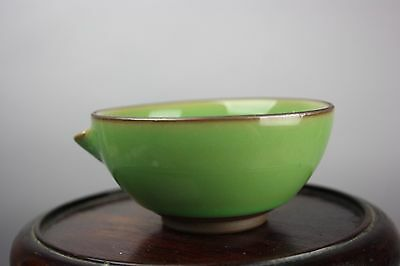 19th/20th C. Chinese/Japanese Green-Glazed Cup