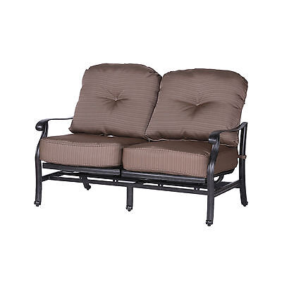 Darby Home Co Germano High Back Motion Loveseat with Cushions