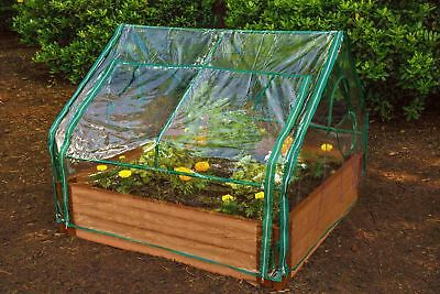 Frame It All Extendable 4 Ft. W x 4 Ft. D Mini Greenhouse