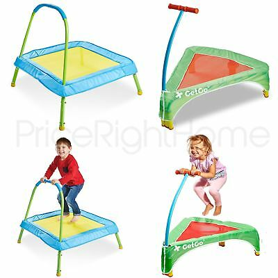 Kid Active Junior Trampolines Indoor Outdoor - Easy Assebly, Foldaway