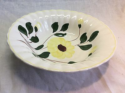 Blue Ridge China Southern Potteries Yellow Ridge Daisy Serving Bowl