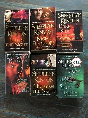Lot Of 6 Sherrilyn Kenyon Books Dark Hunter Bad Agency Paranormal Series PB
